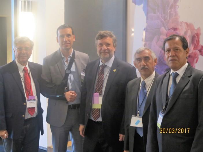 Coordinando Mision Cusco en Meeting AHPBA