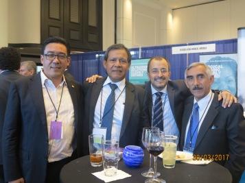 Meeting AHPBA Marzo Miami con presidente capitulo Colombiano VH Torres y el Dr. Chan peruano radicado en Mexico