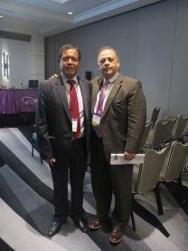 Moderador con Dr. Juan Sanabria AHPBA Marzo 2017